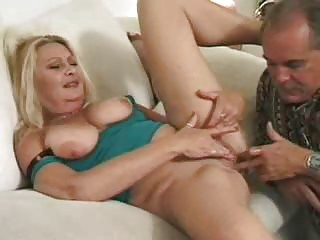 Mature blonde gets pussy lickedass fucked and