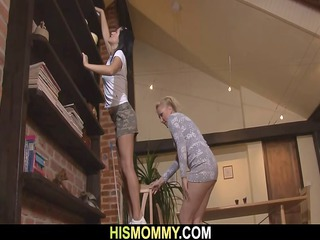 Hot mom seduces her sons GF