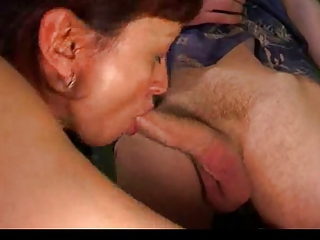Russian Mature with young guys by TROC