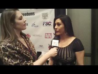 Huge Boobs Hot MILF Raylene Interviewed in the