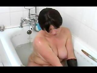 Busty MILF In the Bath