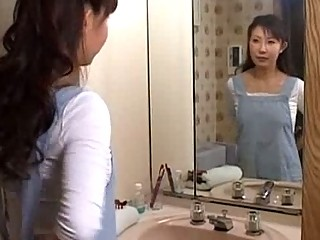 Asian mom blowjob