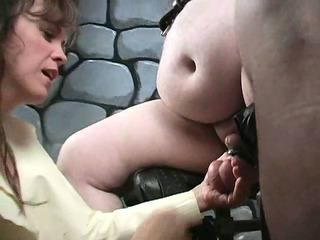 Extreme mature femdom milf bizarre cbt fetish