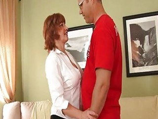 Nasty Mature Redhead Needs A Fuc...