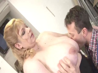 Golden-Haired big beautiful woman-Mother Id Like