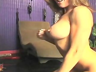 Brandi Love Leather Masturbation