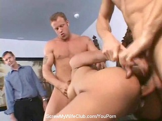 Anal 3some With Swinger Wife