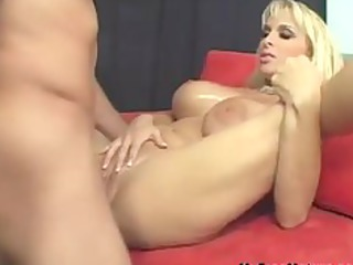 Holly Halston And Her Huge Hooters Are Hunted By
