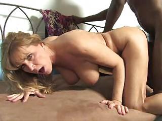 Mature Nicole Moore get facial cumshot