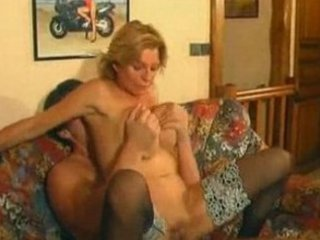 Super Horny French Milf!