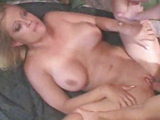Big tit MILF with younger stud